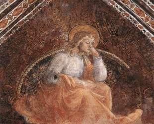 St. Luke the Evangelist — Филиппо Липпи