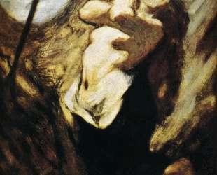 Св. Магдалина в пустыне — Оноре Домье
