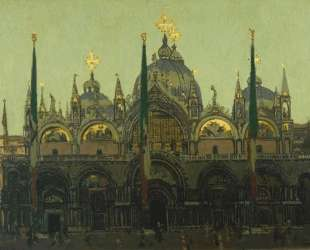 St. Mark's, Venice — Уолтер Сикерт