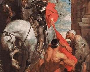 Св. Мартин разделяет свой плащ — Антонис ван Дейк