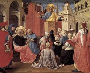 Проповедь Святого Петра в присутствии Святого Марка — Фра Анджелико