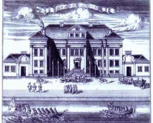 St. Petersburg. View of the Winter Palace of Peter I. — Алексей Зубов