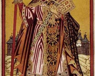 Святой равноапостольный князь Владимир — Иван Билибин