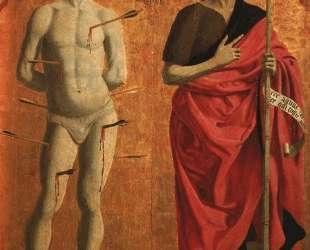 Св. Себастьян и Иоанн Креститель — Пьеро делла Франческа
