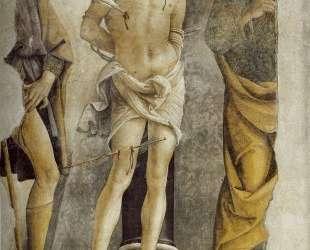 Св. Себастьян и части фигур Св. Рокко и Св. Петра — Пьетро Перуджино