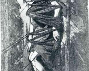 Эскиз костюма Св. Себастьяна к балету «Мученичество Святого Себастьяна» — Леон Бакст