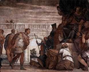 St Sebastian Reproving Diocletian — Паоло Веронезе