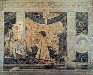 Св. Сигизмунд и Сигизмондо Пандольфо Малатеста — Пьеро делла Франческа