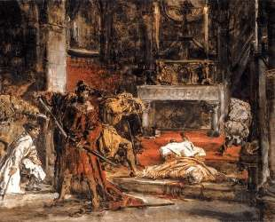 St Stanislaus killing — Ян Матейко