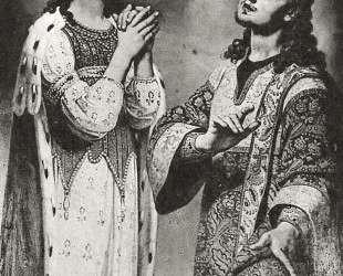 Царица Александра и архидьякон Стефан — Владимир Боровиковский