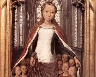Св. Урсула и Богородица (Рака Св. Урсулы) — Ганс Мемлинг