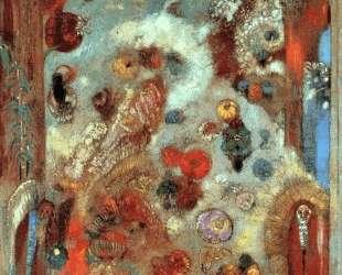 Stained Glass Window (Allegory) — Одилон Редон
