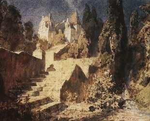 Лестница к замку — Василий Поленов