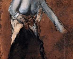 Стоящая женщина с обнаженным торсом — Эдгар Дега