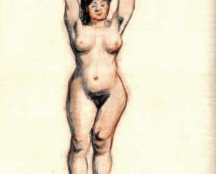 Standing Female Nude Seen from the Front — Винсент Ван Гог
