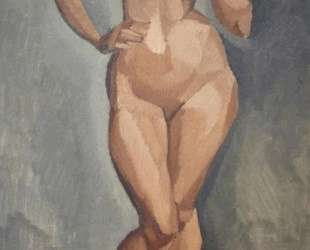 Standing nude from the front — Роже де ла Френе