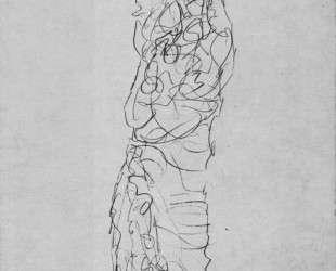 Standing Woman in Kimono (Dame im Kimono) — Густав Климт