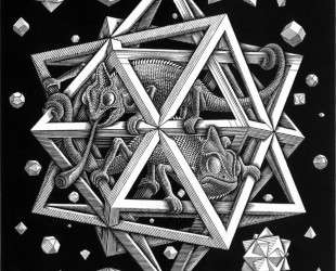 Stars — Мауриц Корнелис Эшер