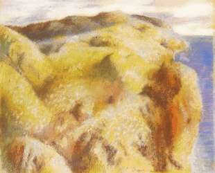 Крутой берег — Эдгар Дега
