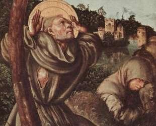 Стигматизация Св. Франциска — Лукас Кранах Старший