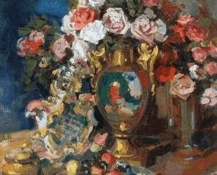 Натюрморт. Розы — Константин Коровин