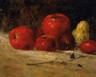 Натюрморт. Яблоки и груши — Гюстав Курбе