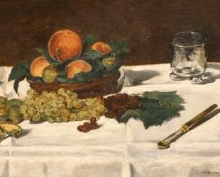 Still Life: Fruits on a Table — Эдуард Мане
