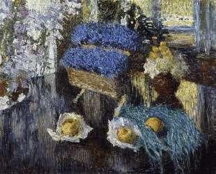 Still Life of Flowers and Fruit — Игорь Грабарь