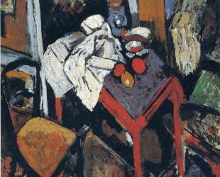 Still life on the red table — Андре Дерен