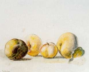 Still Life (quince and pear) — Бальтюс