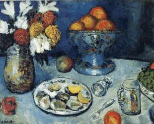 Still life (The dessert) — Пабло Пикассо