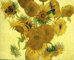 Still Life — Vase with Fifteen Sunflowers — Винсент Ван Гог