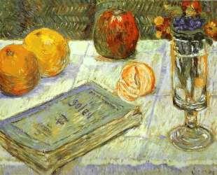 Still Life with a Book — Поль Синьяк