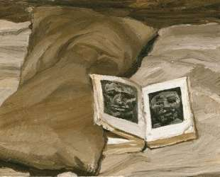 Натюрморт с книгой — Люсьен Фрейд