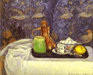 Still Life with a Coffee Pot — Камиль Писсарро