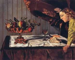 Still Life with a Figure — Бальтюс
