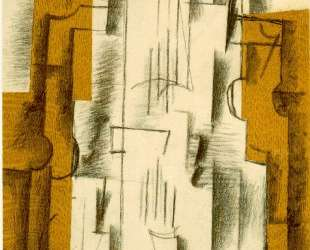 Натюрморт со скрипкой — Жорж Брак