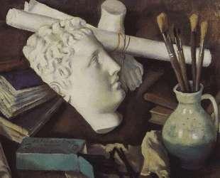 Натюрморт с атрибутами искусства — Зинаида Серебрякова
