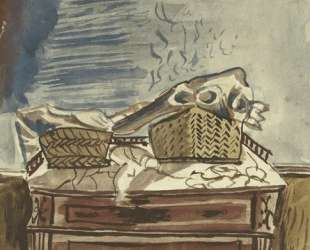 Still life with baskets — Янис Царухис