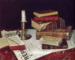 Still Life with Books and Candle — Анри Матисс