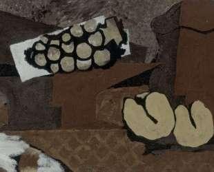 Натюрморт с коричневым кувшином — Жорж Брак