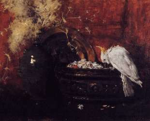 Still Life with Cockatoo — Уильям Меррит Чейз