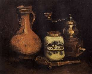 Still Life with Coffee Mill, Pipe Case and Jug — Винсент Ван Гог