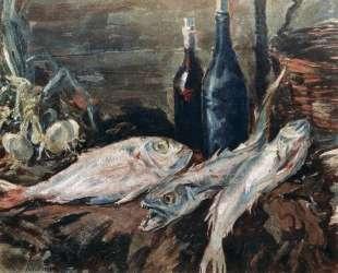 Натюрморт с рыбами — Константин Коровин