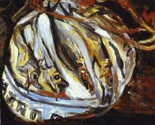 Натюрморт с рыбой — Моис Кислинг