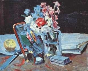 Натюрморт с цветами — Виктор Борисов-Мусатов