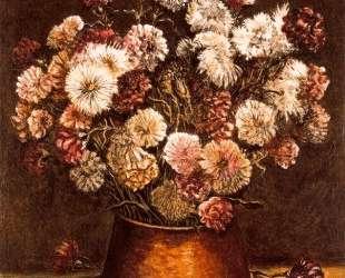 Натюрмотрт с цветами в медной вазе — Джорджо де Кирико