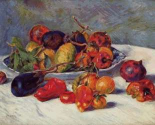 Still Life with Fruit — Пьер Огюст Ренуар