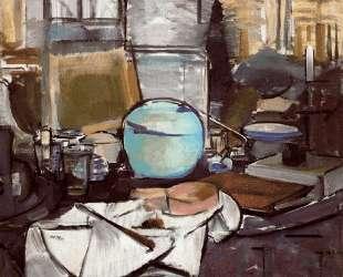 Натюрморт с кувшином и имбирём I — Пит Мондриан