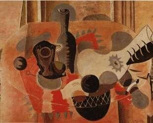 Натюрморт с гитарой — Жорж Брак